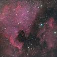 北アメリカ、ペリカン星雲